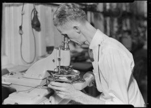 Hamilton Watch Inspection Vintage