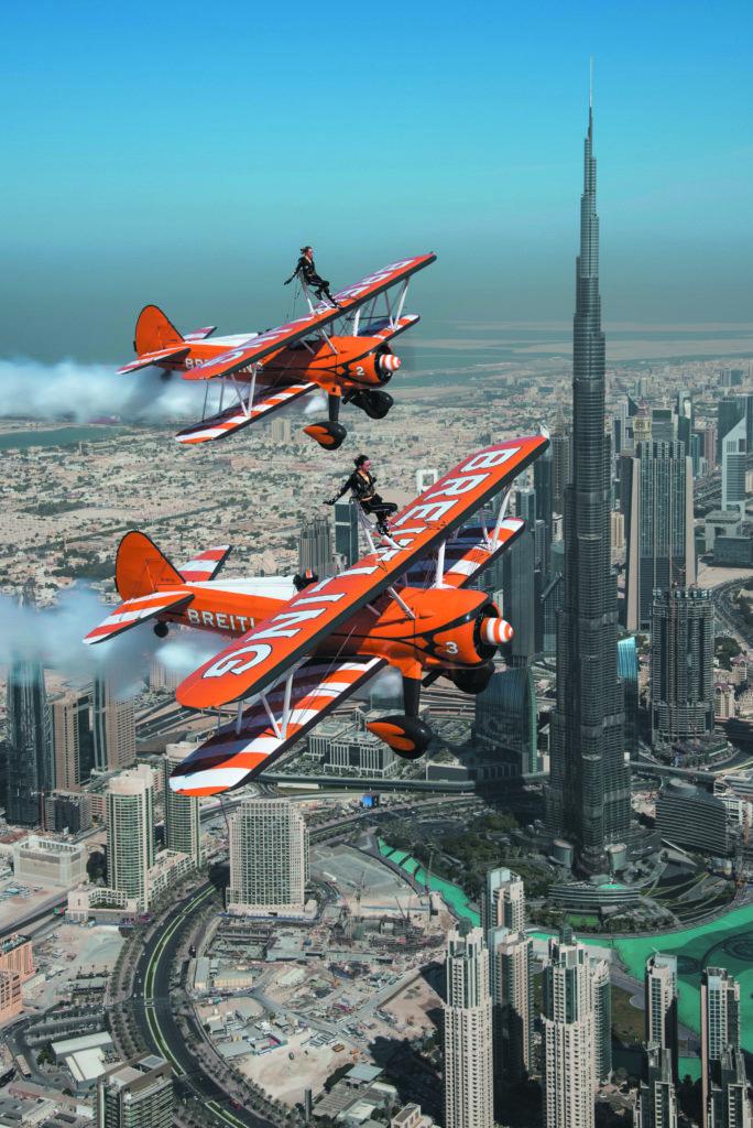 Breitling Wingwalkers - Dubai