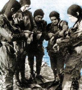 Deutsche Kampfschwimmer im 2. Weltkrieg mit Panerai-Uhren