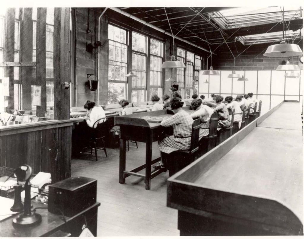 US Radium Girls Fabrik