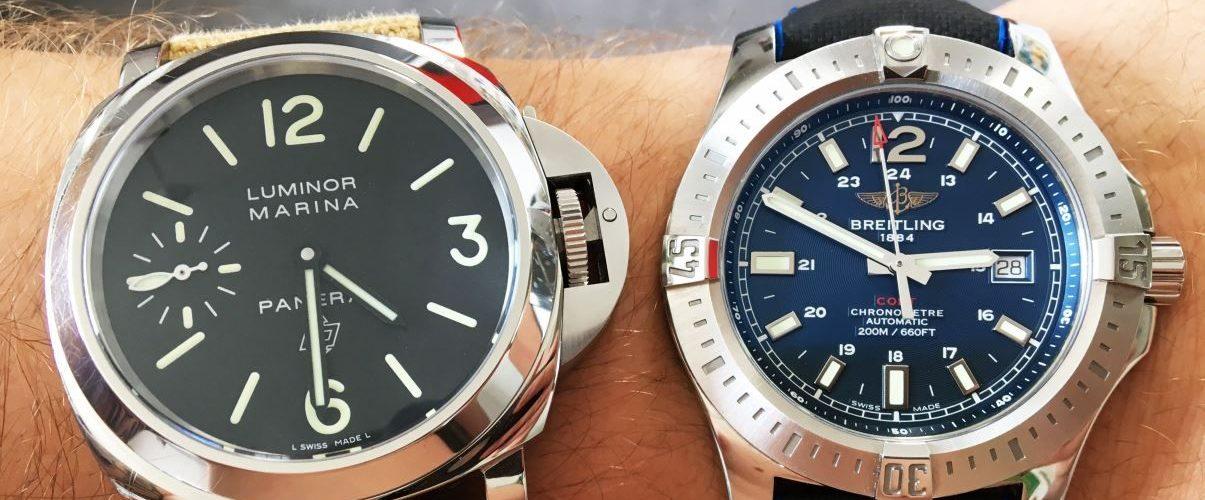 Uhrengröße Handgelenkumfang