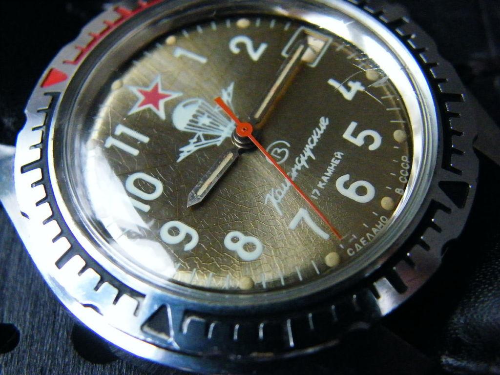Vostok Militäruhr