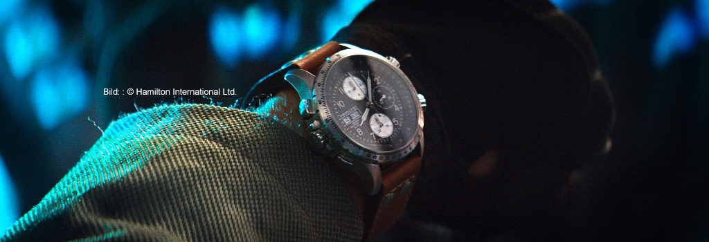 Hamilton Khaki X-Wind on Jake Morrison in Independence Day Resurgence 2