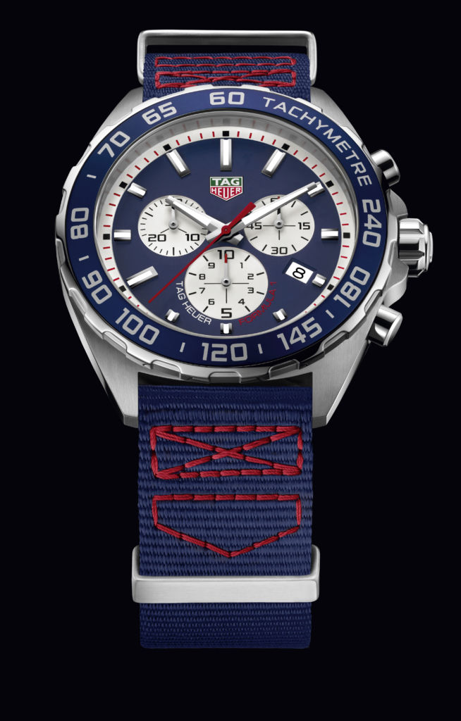 TAG Heuer Red Bull Chronograph CAZ1018.FC8213 THF1 SPECIAL EDITION RED BULL TEXTILE STRAP - PACKSHOT 2016
