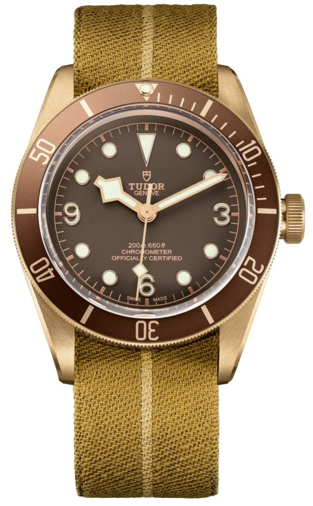 Tudor Black Bay Bronze Uhr