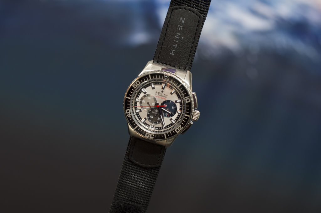 Zenith El Primero Stratos Flyback Striking 10th Baumgartner 1