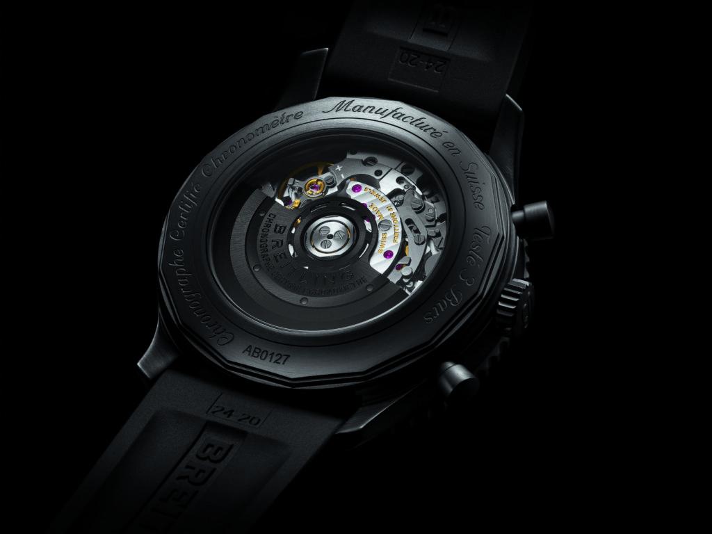 Breitling Navitimer 46 Blacksteel