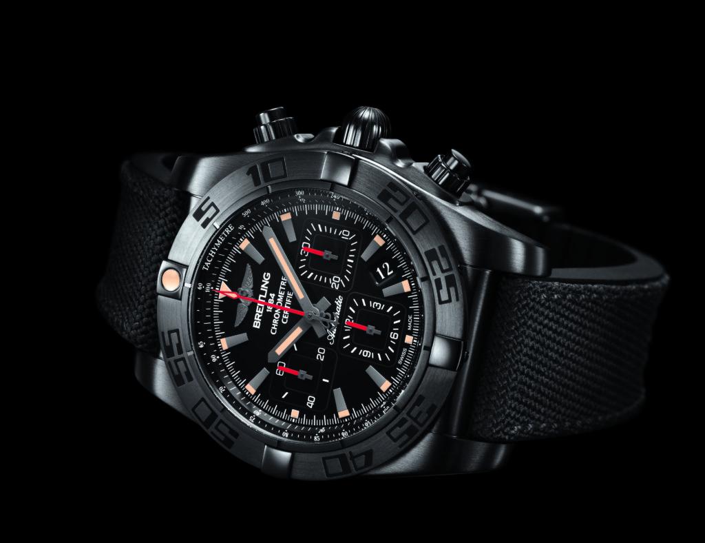 Chronomat 44 Blacksteel