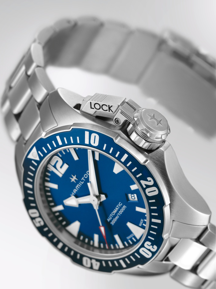 Hamilton Khaki Navy Frogman H77705145_blau (2)