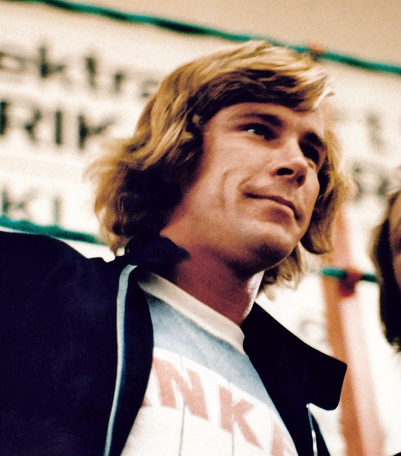 James Hunt 1977 TAG Heuer Forumla 1