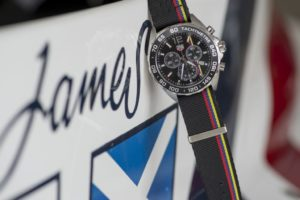 Read more about the article TAG Heuer: Formula 1 James Hunt Limited Edition auf dem Goodwood's Festival of Speed vorgestellt