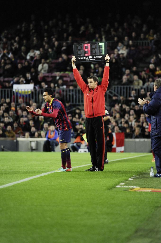 Maurica Lacroix FC Barcelona Anzeigetafel Fußball-Uhr
