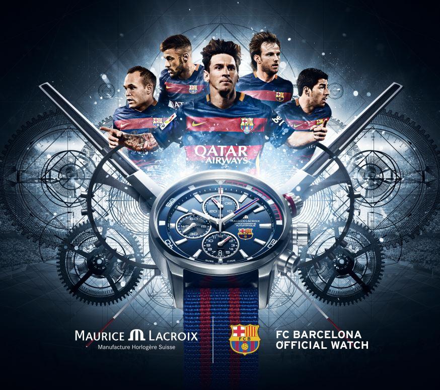 Maurice Lacroix FC Barcelona Werbung