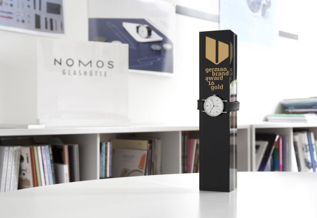Nomos Glashütte German Brand Award