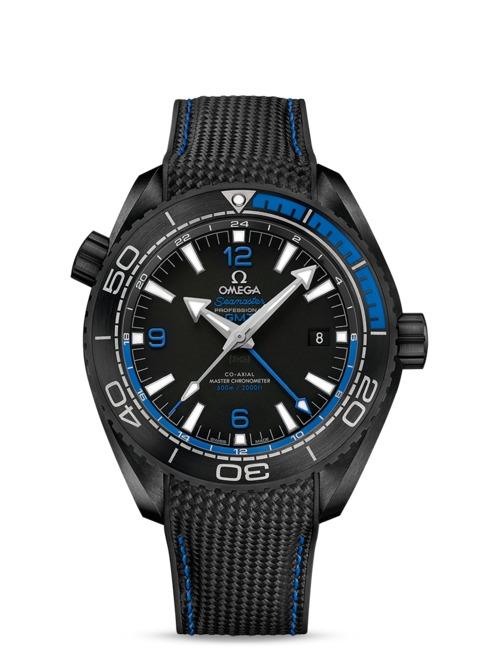 Omega Planet Ocean Deep Black Blau