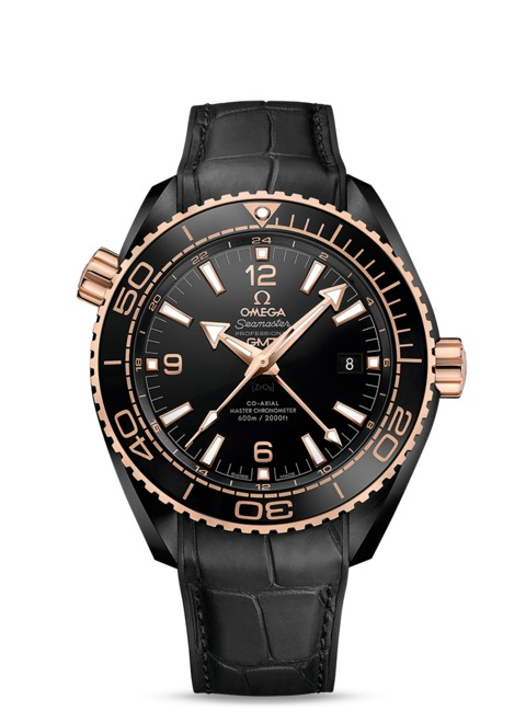 Omega Planet Ocean Deep Black Gold