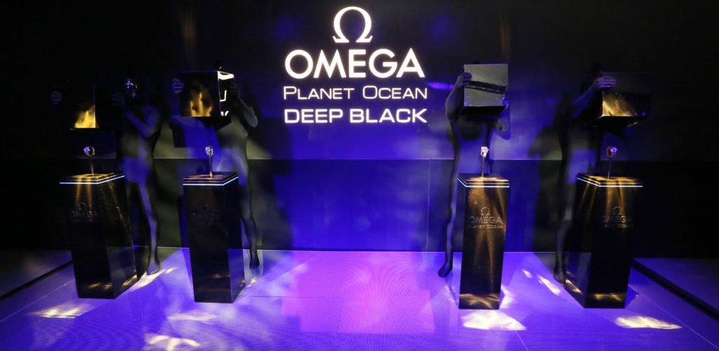 Omega Planet Ocean Deep Black New York