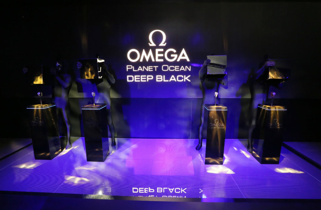 Omega Planet Ocean Deep Black New York