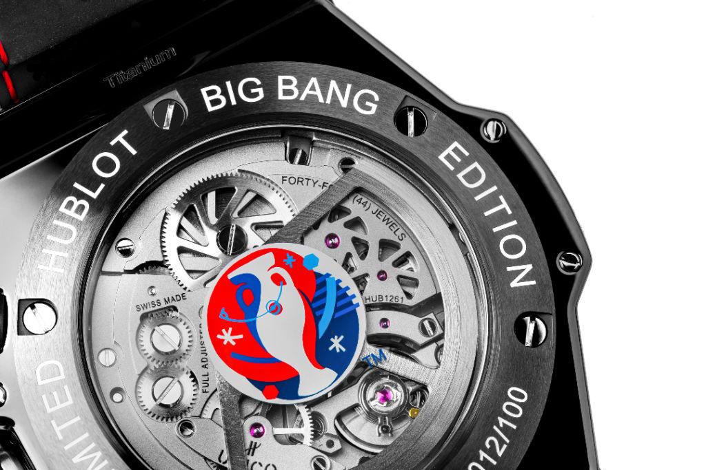 Hublot Big Bang Unico Retrograde Fußball-Uhr