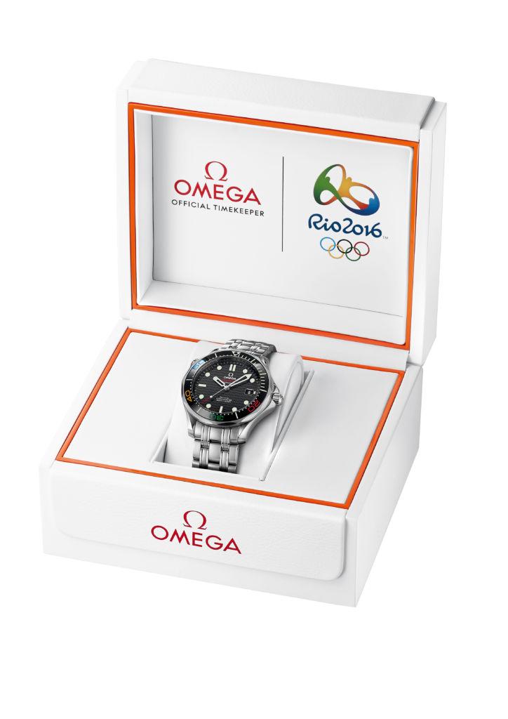 Omega Seamaster 300M 9410.95.65 SE Diver Rio 2016