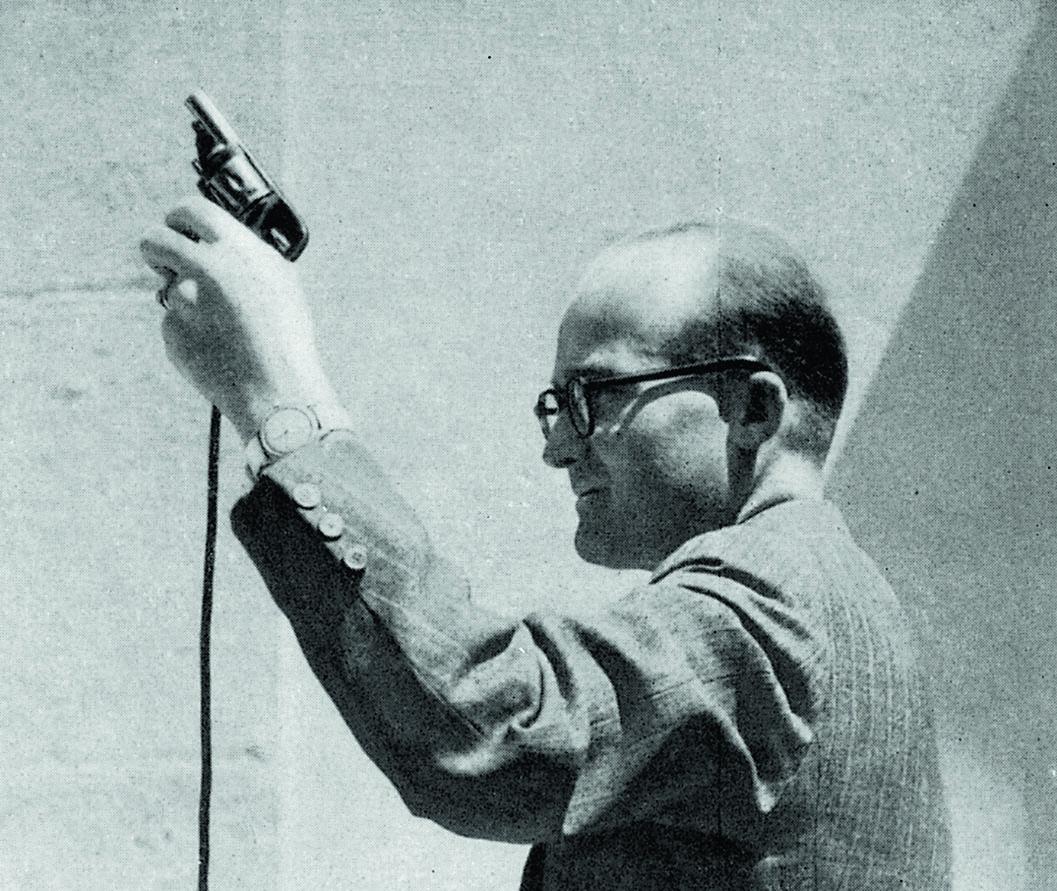Omega 1948_starting pistol