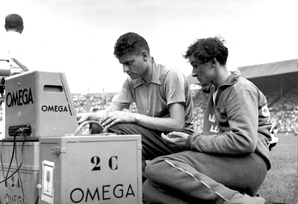 Omega Olympic Games 1948_All eyes on London