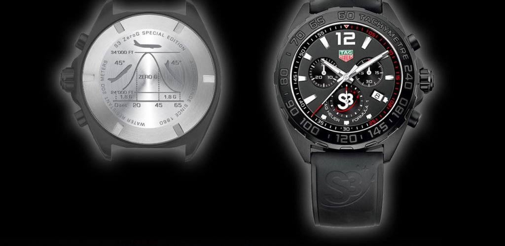 tag heuer formula 1 s3 zerog special edition als boardkarte chrononautix. Black Bedroom Furniture Sets. Home Design Ideas