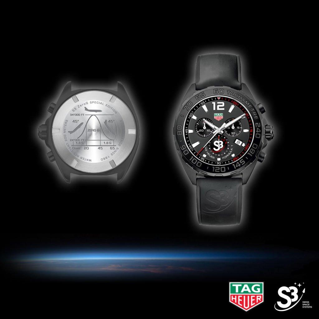 Neue Uhr: TAG Heuer Formula 1 S3 ZeroG Special Edition -