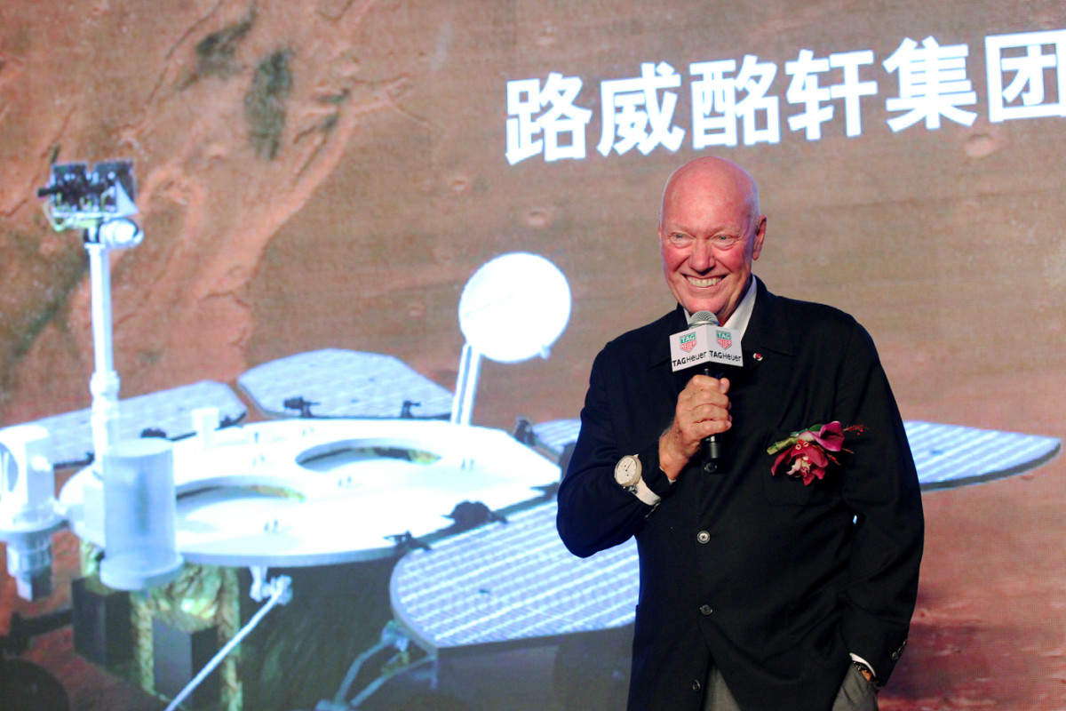 4. Speech by Jean-Claude Biver, CEO of TAG Heuer and LVMH Watch Division President China Mars Exploration Mission
