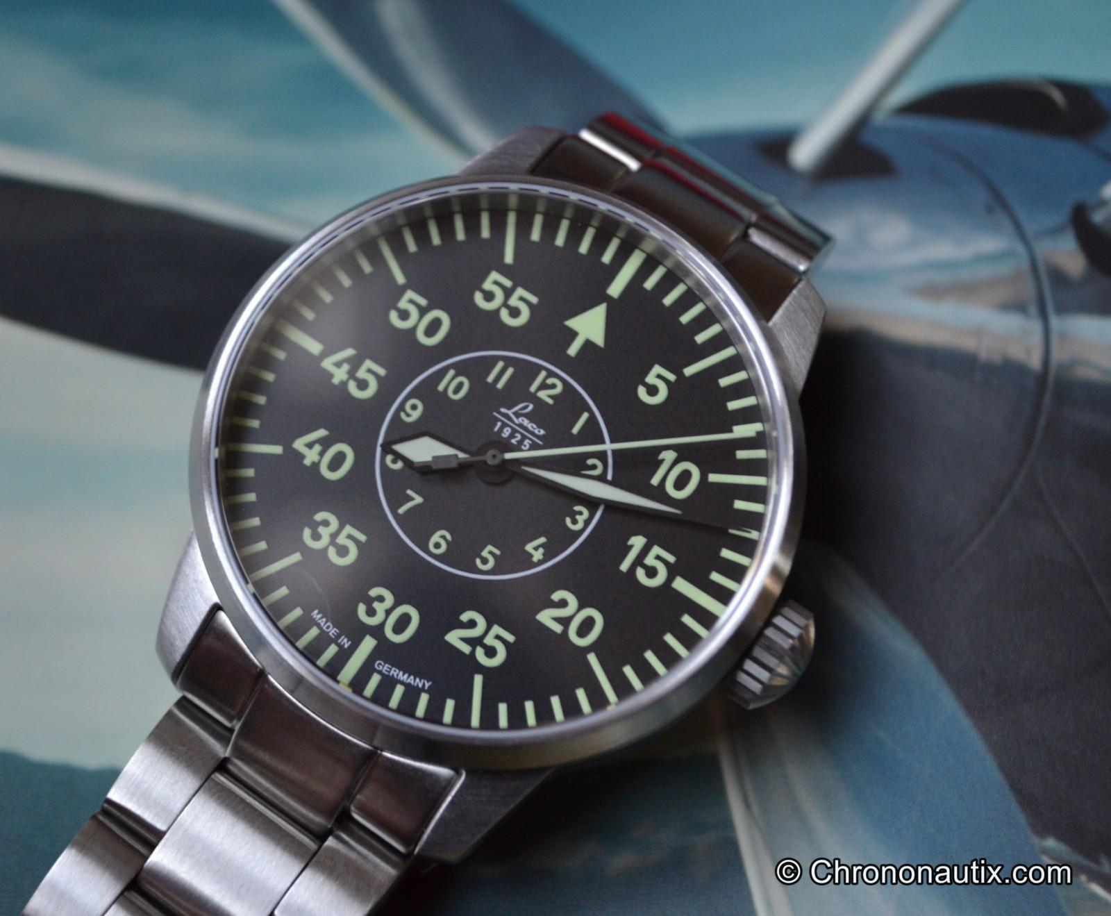 Laco Faro B-Muster Beobachtungsuhr Fliegeruhr Pilotenuhr 2. WK
