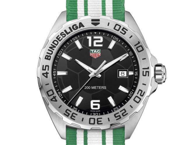 TAG Heuer Bundesliga UHR DFL WAZ1013.BC0890 2016