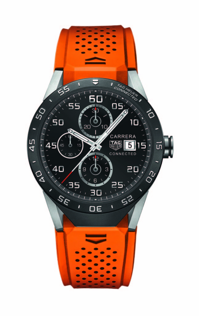 Tag heuer Connected Orange