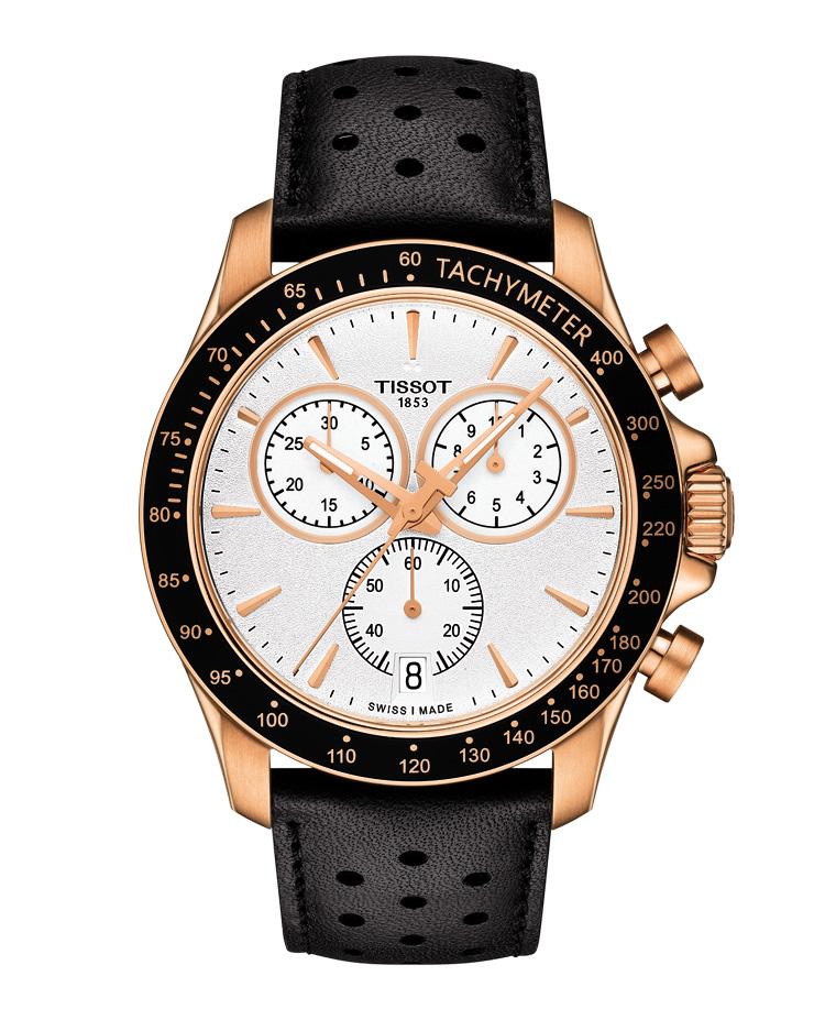 Tissot V8 2016 Quarz Chronograph T1064173603100