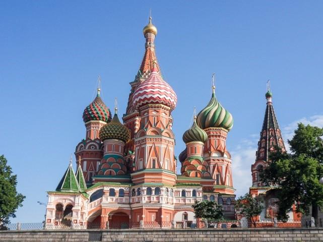 Zwiebelturm Architektur Moskau Basilius Kathedrale