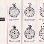 Guinand Chronographen Taschenuhren Vintage Katalog