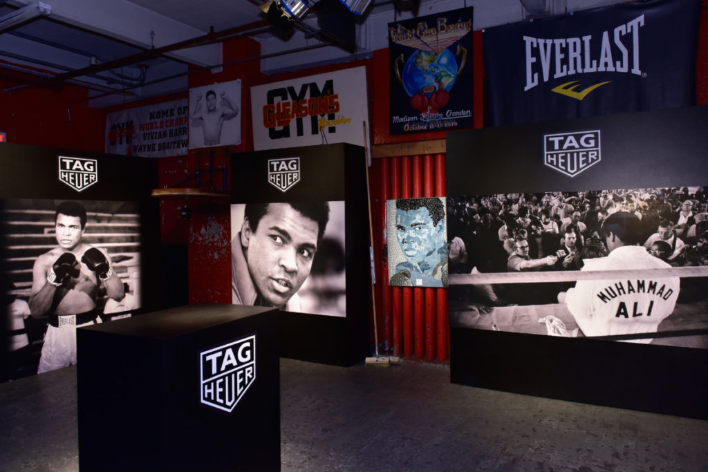 Die Event Location: Gleason's Gym, Bild: Eugene Gologursky/Getty Images for TAG Heuer