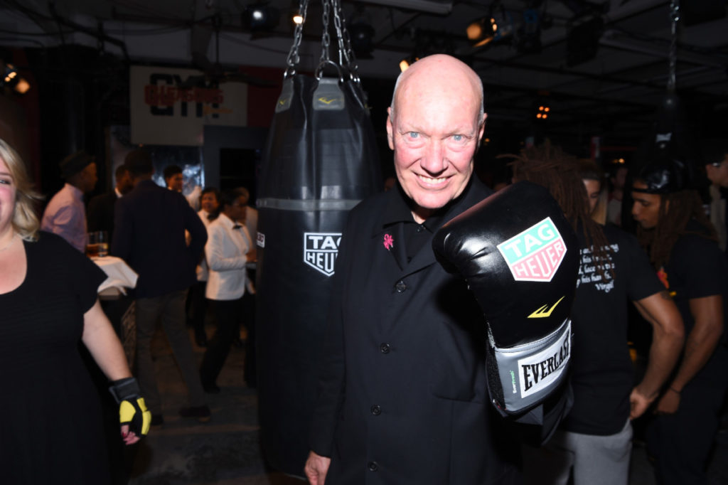 JC Biver attends the Muhammad Ali tribute event at Gleason's Gym on October 25, 2016 in New York City.