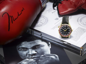 TAG Heuer Calibre 5 Ring Master: Muhammad Ali Edition (WAR2A11.FC6337)