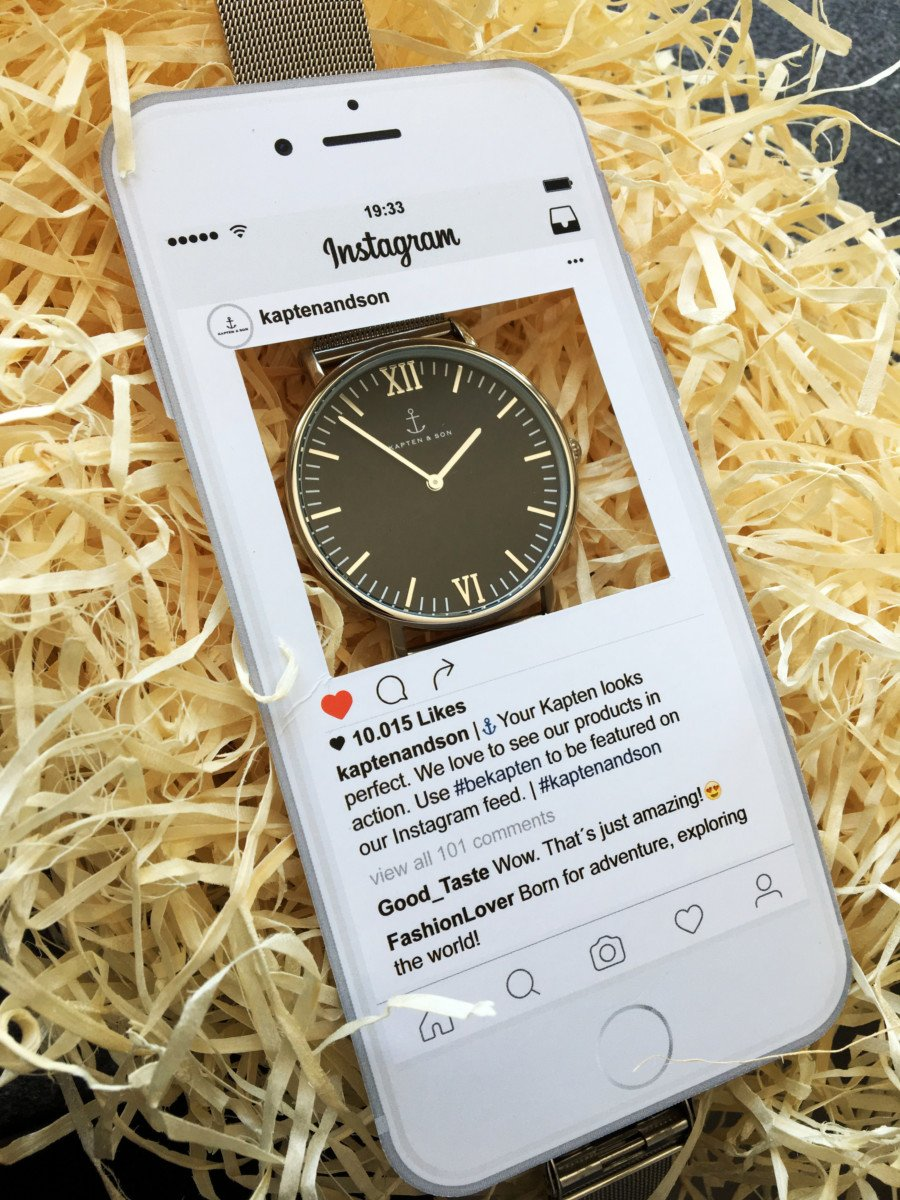 Kapten & Son Campus Mesh 40 Iphone Instagram Schablone
