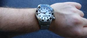 Marc & Sons MSD-027 Leuchtkeks Taucheruhr Diver Wristshot
