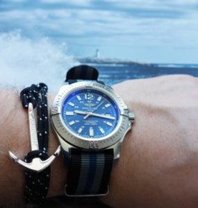 Watchbandit Anker Armband Anchor Bracelet schwarz black