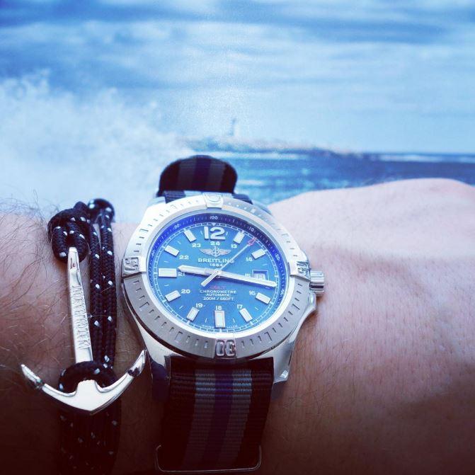 Breitling Colt Sailing Watchbandit Nato