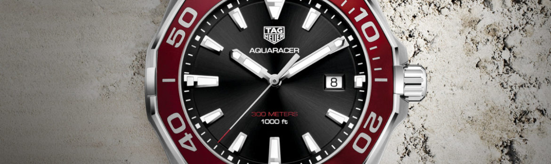 TAG Heuer Aquaracer 2017 Aluminium rot WAY101B.BA0746