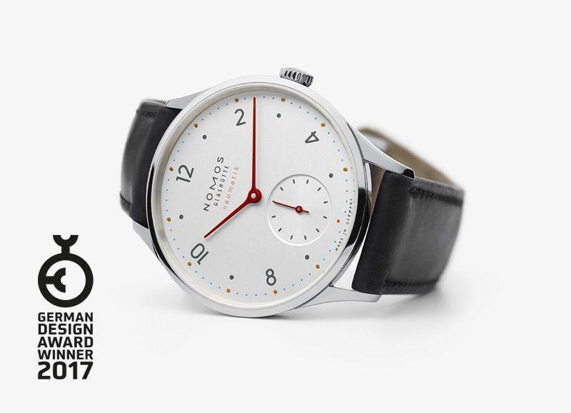 NOMOS Minimatik German Design Award