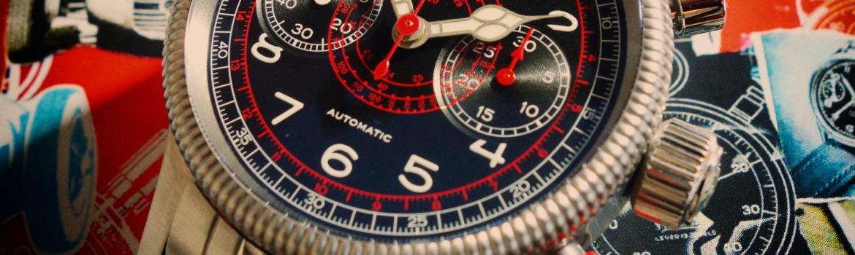 Hanhart TachyTele Vintage Retro Chronograph