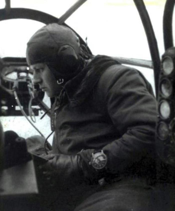 Beobachtungsuhr zweiter Weltkrieg WW2