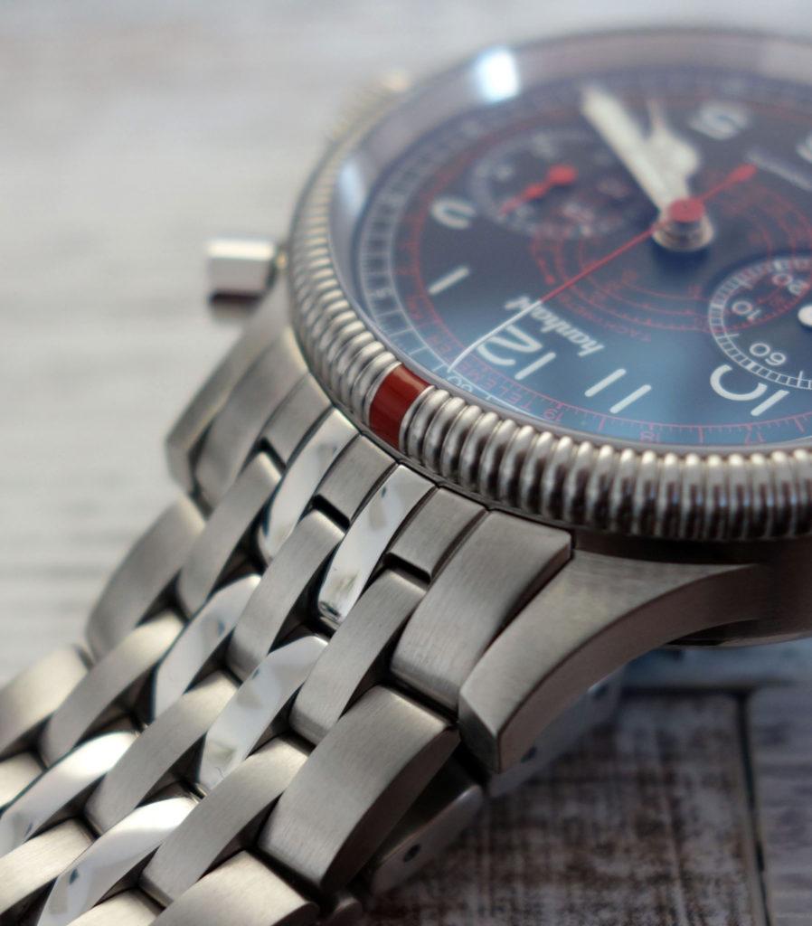 Hanhart TachyTele Edelstahl Armband