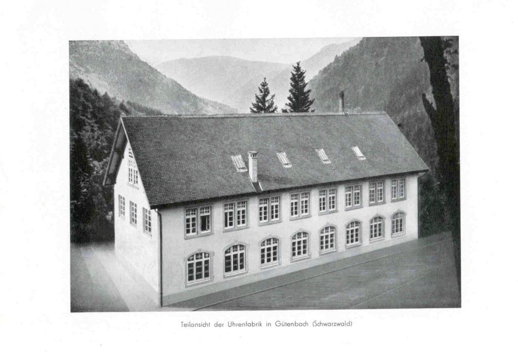 Hanhart Produktionsgebäude in Gütenbach, 1939