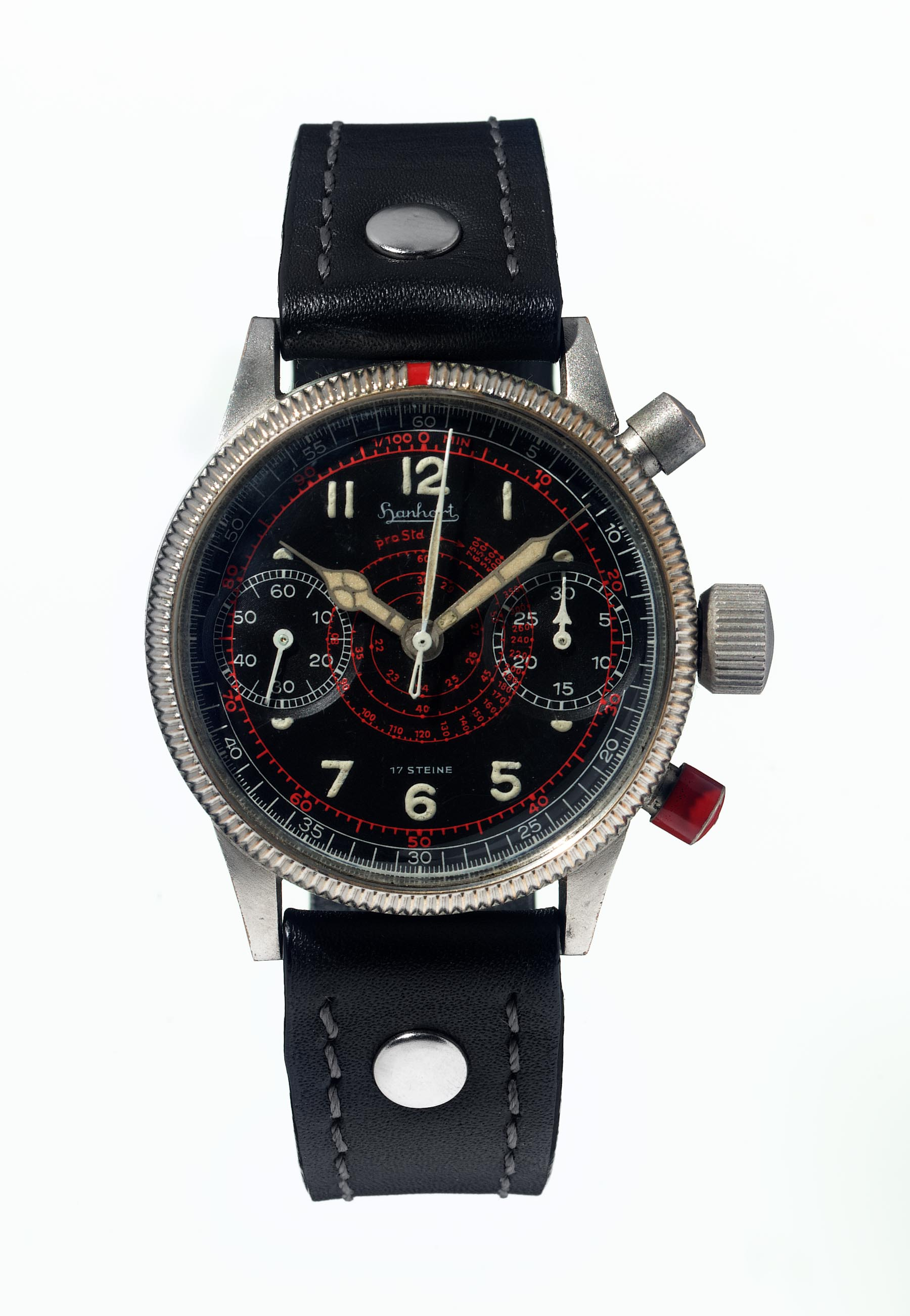 Hanhart TachyTele WW2 World War 2 Original Vintage German Military Watch