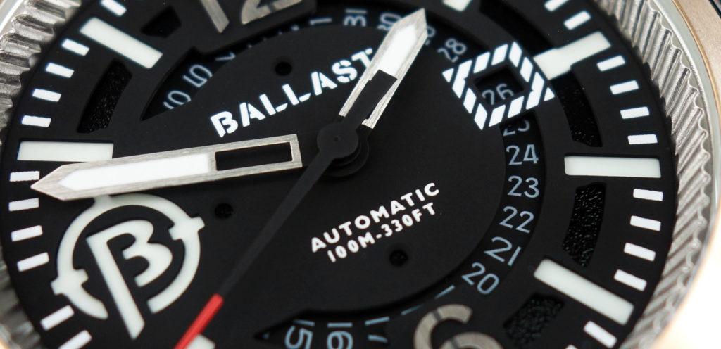 Ballast 1903 BL-3133 Trafalgar Zifferblatt Dial